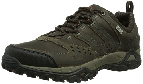 Columbia Peakfreak Xcrsn Leather Outdry Scarpe da Trekking, Uomo, Marrone (255), 12