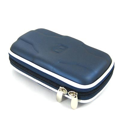 Airform Leather Case for NDS Lite Nitendo Console (Blue) + Crystal Clear LCD Protector with Cleaning Cloth