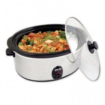 Better Chef IM 457 Slow Cooker w Removable Stoneware Better Chef IM 457 Slow Cooker w Removable S