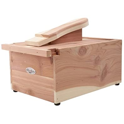 Woodlore Professional-Style Cedar Shoe Valet,Cedar,One Size