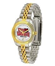 Arkansas State Red Wolves ASU NCAA Womens 23Kt Gold Watch