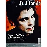 MONDE 2 (LE) [No 255] du 03/01/2009 - BENICIO DEL TORO ACTEUR MAXIMO - IL INCARNE CHE GUEVARA DANS LE FILM DE...