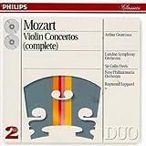 Mozart : Int�grale des Concertos pour violon