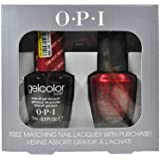 Spe83 I'm Not Really a Waitress H08 Opi Gelcolor Uv Gel Polish with Free Matching Nail Lacquer 0.5floz
