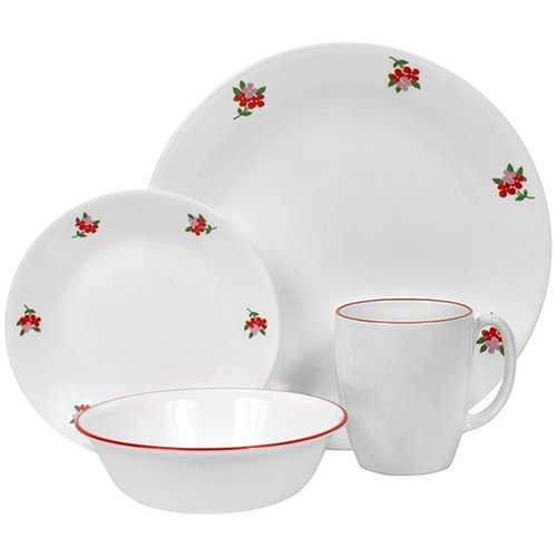 thing about buying cheap corelle livingware 16 piece dinnerware set