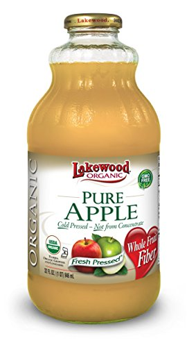 Lakewood Organic Apple Juice, 32-Ounce Bottles (Pack of 6) (Raw Apple Juice compare prices)