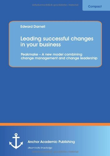 Leading successful changes in your business:
