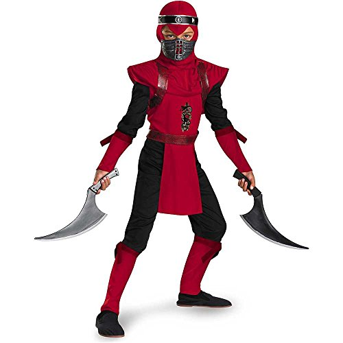 Red Viper Ninja Deluxe Costume - Small