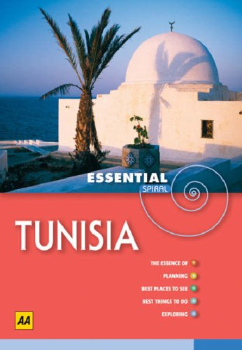 AA Essential Spiral Tunisia (AA Essential Spiral Guides)