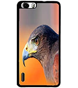 ColourCraft Eagle Look Design Back Case Cover for HUAWEI HONOR 6
