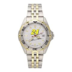 LogoArt Jeff Gordon Mens All Star Stainless Steel Watch - Jeff Gordon Each by LogoArt