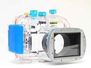 Polaroid Dive Rated Waterproof Underwater Housing Case For Canon Powershot G11, G12 Digital Camera