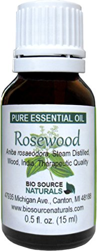 Rosewood (Aniba rosaeodora) Pure Essential Oil - 30 ml (1 Fl. Oz) Aromatherapy