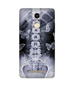 Skeletal Butterflies Xiaomi Redmi Note 3 Case