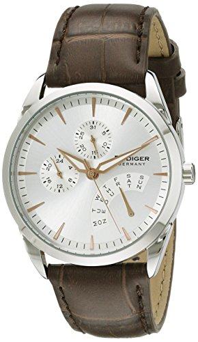 Rudiger Men's R3200-04-001 Hamelin Analog Display Quartz Brown Watch