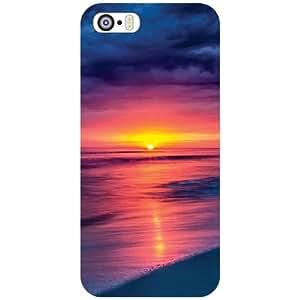 Apple iPhone 5S Back Cover - Sunset Mode Designer Cases