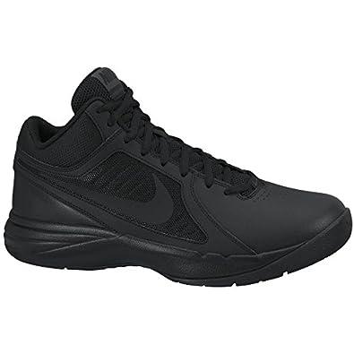 Nike Men's The Overplay VIII Black/Black/Anthracite Basketball Shoe 7.5 Men US