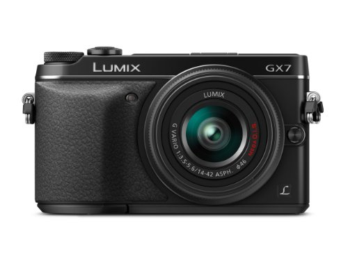 Panasonic LUMIX DMC-GX7KK Compact System Camera with 14-42 II Lens Kit (