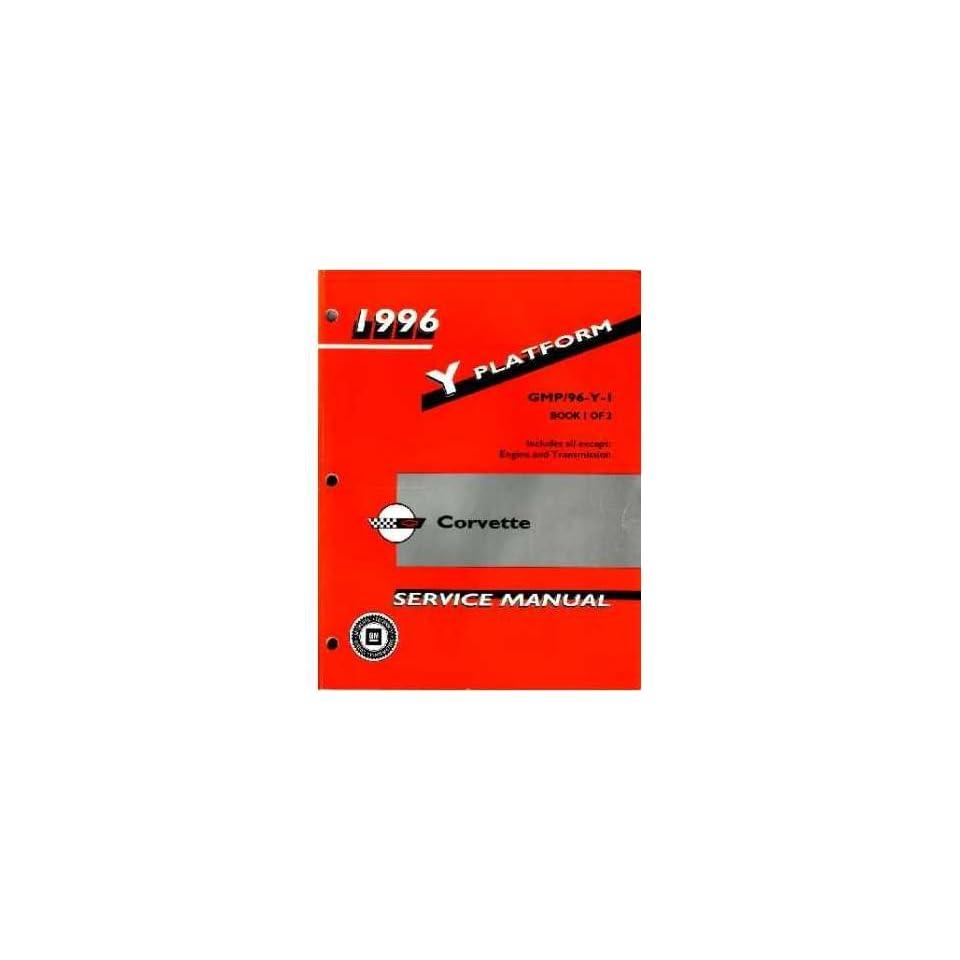 1996 CORVETTE Shop Service Repair Manual Book