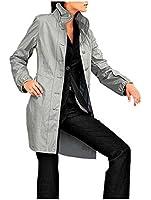 CLASS INTERNATIONAL Damen-Mantel Kurzmantel Grau