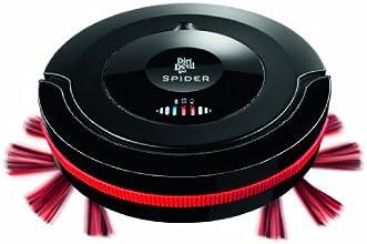 Dirt Devil M607 Saugroboter Spider (17 Watt, 0,27l Staubbehältervolumen, 3 Programme) schwarz