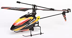 WL toys, V911, 4 Channel 2.4GHz Single Rotor RC Helicopter w/ LCD Display remote, 2 Speed modes & Gyro (black)