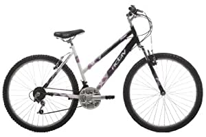 Activ by Raleigh Womens Suspension Mountain Bike - Black/White, 26-inch Wheel, 15 Inch Frame