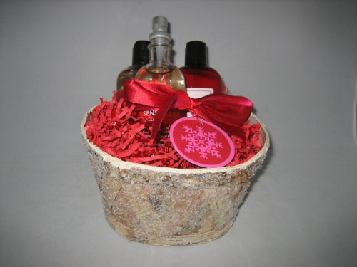 Bath & Body Works Aromatherapy Black Currant Vanilla Gift Basket - Small