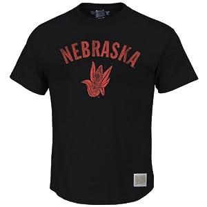 Nebraska Cornhuskers NCAA Vintage Corn Logo T-Shirt 2XL by Retro