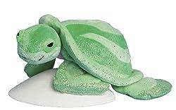 "Glitter Kohair Sea Turtle 10"" by Douglas Cuddle Toys"