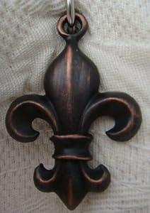Sa170brz fleur de lis shower curtain hook add on oil rubbed bronze finish 12pcs - Fleur de lis shower curtain hooks ...