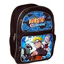 Ninja Naruto Shonen Jump ShippuDen Large Backpack Bag Tote Japanese Anime [Toy]