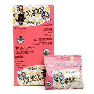 Honey Stinger Energy Chews, Pink Lemonade 12 Ea