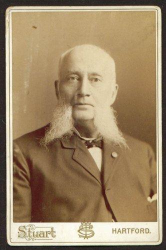 Bald White Muttonchops Cabinet C T Stuart Hartford Ct
