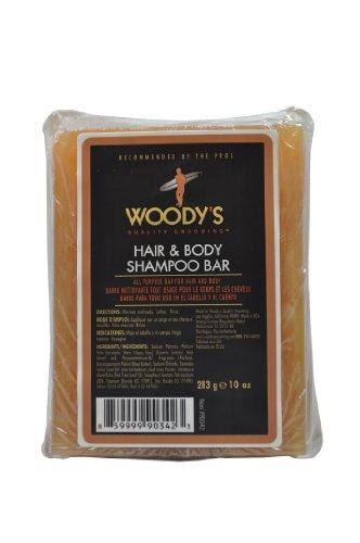 Woody's Quality Grooming Hair & Body Shampoo Bar 283g