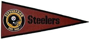 Pittsburgh Steelers Pigskin Pennant at Steeler Mania