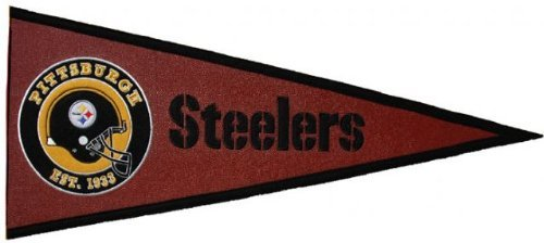 Pittsburgh Steelers Pigskin Pennant at Steeler Mania