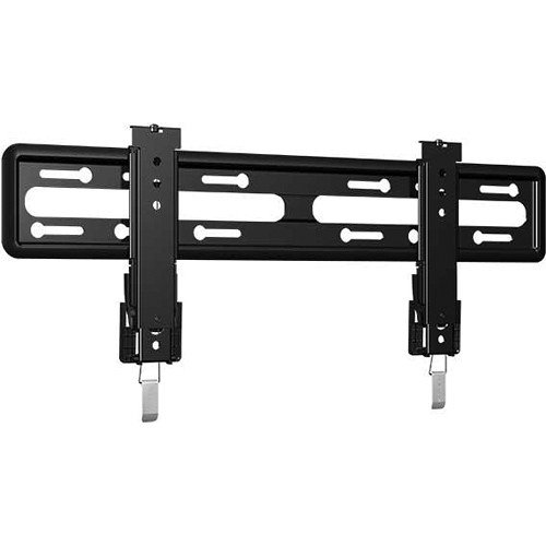 """Sanus Premium Series Fixed Position Low Profile Tv Mount For 51 To 80"""" Flat-Panel Tvs, Suitable For Eye Level Viewing, With Slide Feature For Perfect Wall Positioning, Safety Tab And Kick-Stand Locking Mechanisms, Black Finish"""