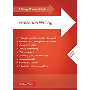 Image: Cover of A straightforward Guide to Freelance Writing