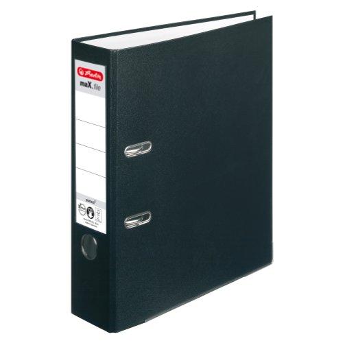 herlitz-5480801-ordner-maxfile-protect-a4-8-cm-mit-einsteckruckenschild-schwarz