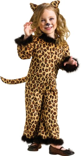 Little Girls' Pretty Leopard Costume Small (24 Months - 2T) front-1063004