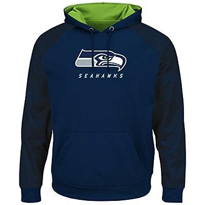"""Seattle Seahawks Majestic NFL """"Armor 2"""" Men's Pullover Hooded Sweatshirt"""