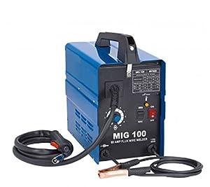 MIG 100 110V 120V Flux Core Wire No Gas Less Welder Welding Machine by ZEERMENG