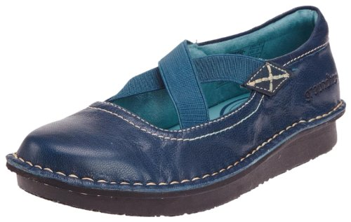 Groundhog Women's Stretch Comfort Loafer and Slip On Sky Blue P960120001 3 UK