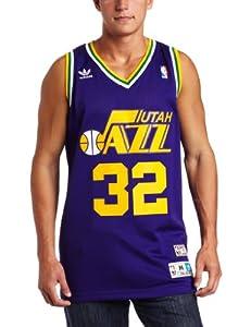 NBA Utah Jazz Karl Malone Swingman Jersey Purple by adidas