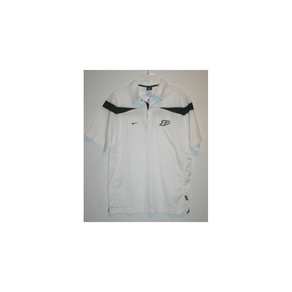 Nike Men's Purdue Polo Shirt (Small) Clothing