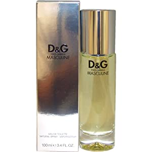 D & G Masculine By Dolce & Gabbana For Men. Eau De Toilette Spray 3.4 Ounces