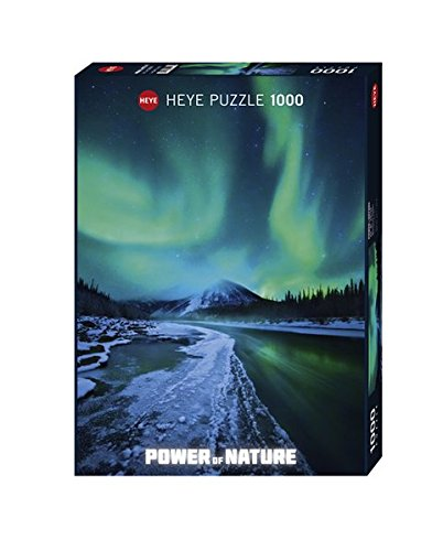 Heye Northern Lights 1000 Piece Power of Nature Jigsaw Puzzle (Nature Puzzle 1000 compare prices)