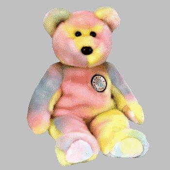 Ty Beanie Buddies - B.B. the Birthday Bear