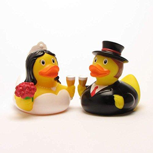 Rubber Duck Bride and Groom   anatra di bagno   paperella di bagno   anatra di gomma   Gioco per il bagnetto